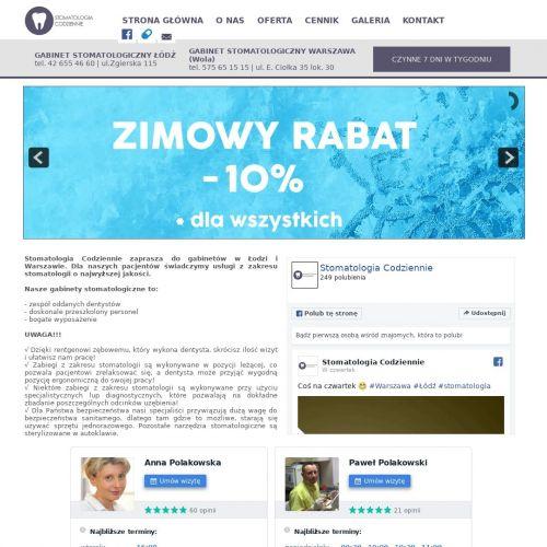 Protetyka stomatologiczna - Warszawa