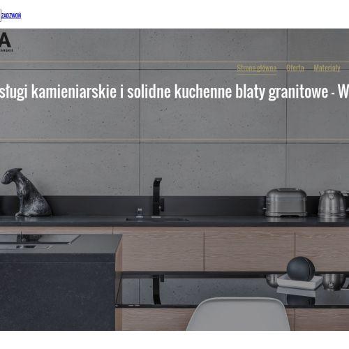 Blaty kamienna łazienkowe i kuchenne