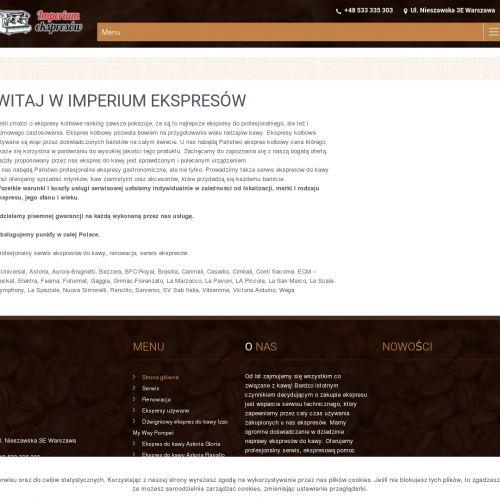Ekspres kolbowy do restauracji - Warszawa