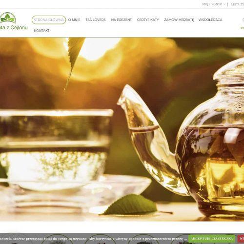 Herbaty azjatyckie zielone