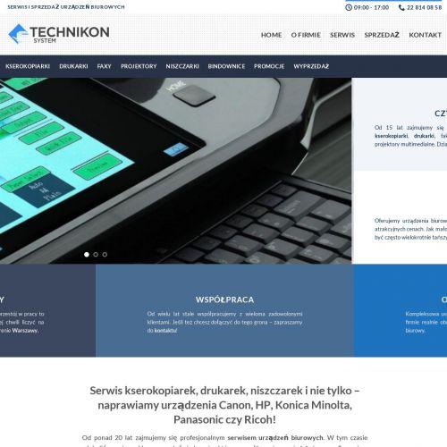 Serwis kserokopiarek Toshiba w Warszawie