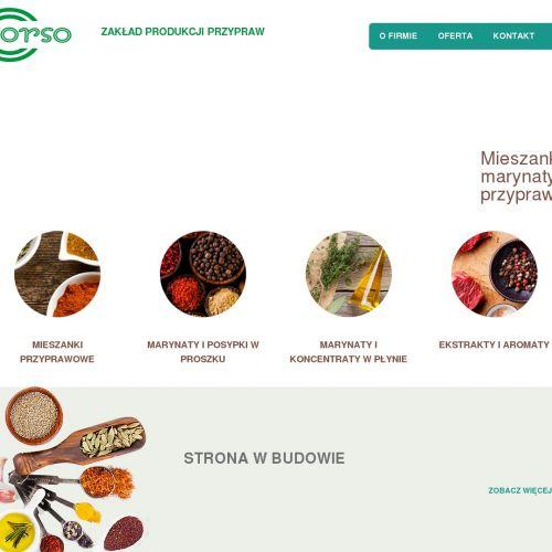 Polski producent mieszanek przyprawowych