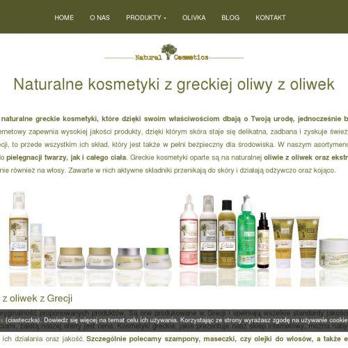 Oliwkowe mydło oraz olejek do masażu