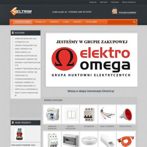 Sklep z akcesoriami elektrycznymi online
