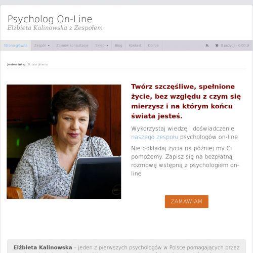 Konsultacje psychologiczne przez internet
