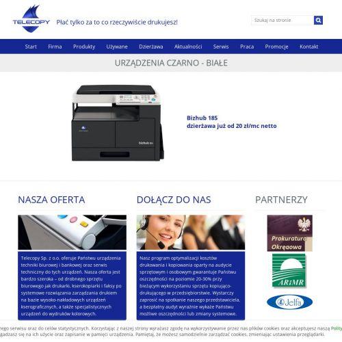 Używane kopiarki