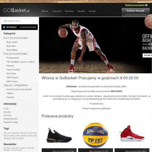 Piłka NBA i buty z kolekcji LeBrona