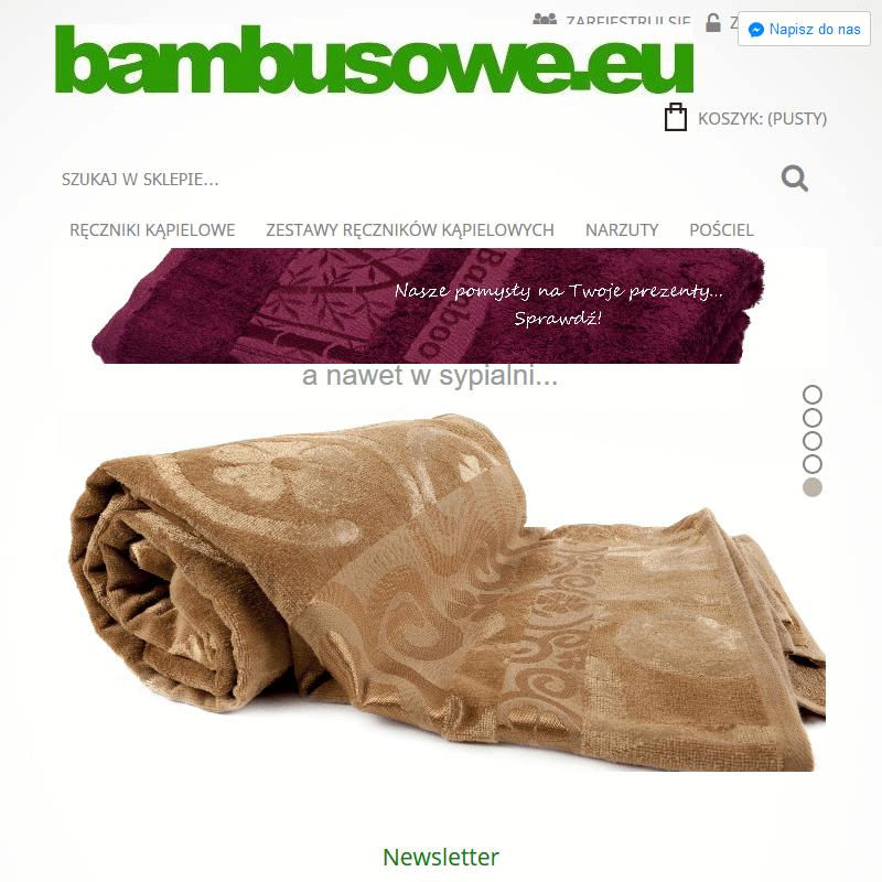 Chłopięcy szlafrok bambusowy
