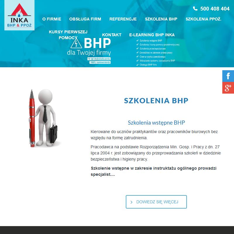 Usługi BHP i PPOŻ
