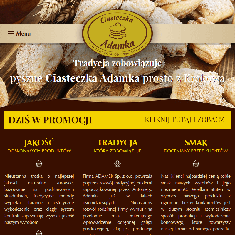 Produkcja ciastek - Kraków