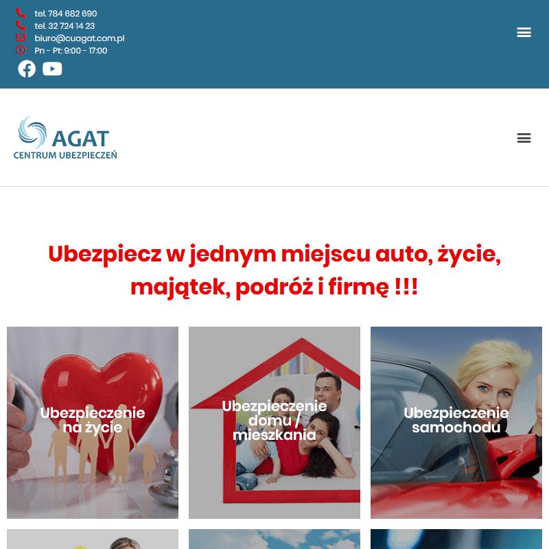 Agencja ubezpieczeń AGAT w Rudzie Śląskiej