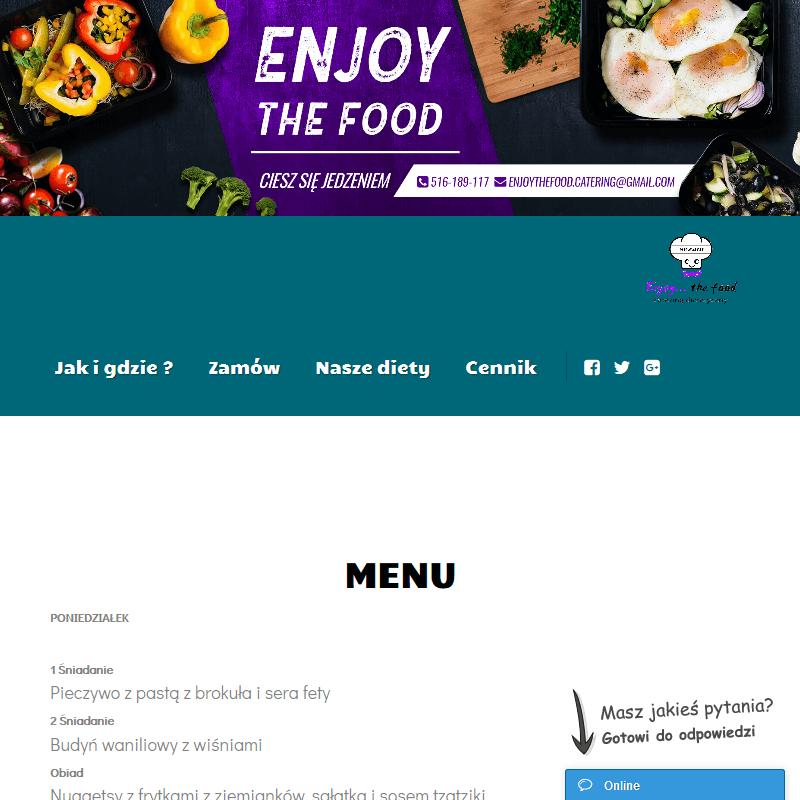Catering dietetyczny wegański - Poznań