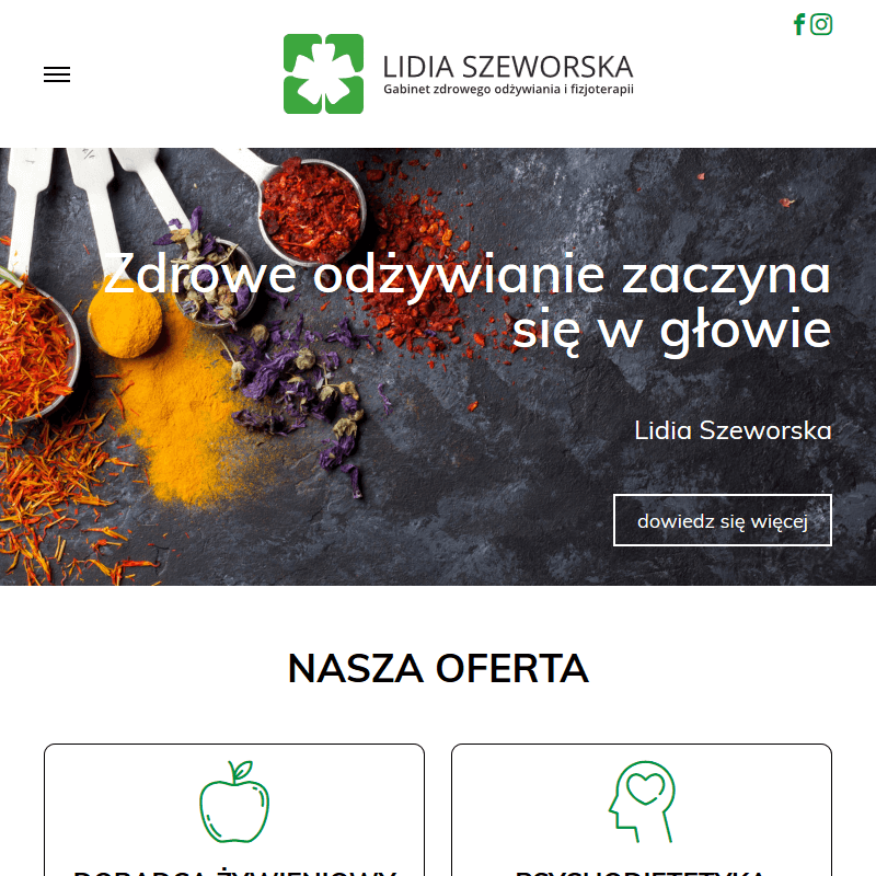 Leczenie dietą - Warszawa