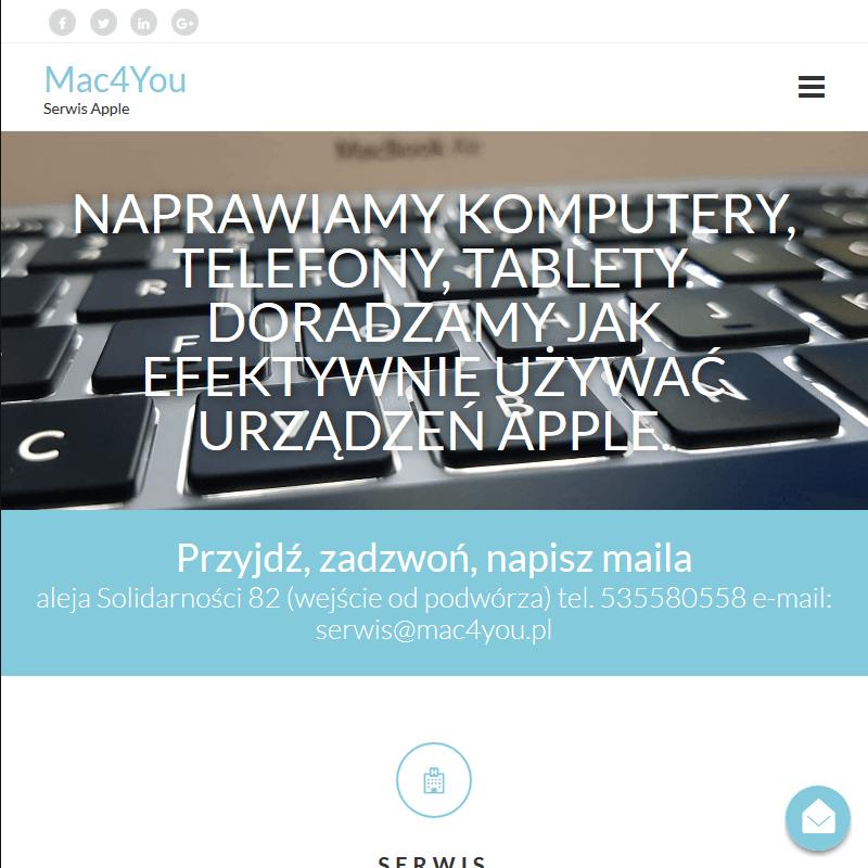 Zdalny serwis Apple - Warszawa