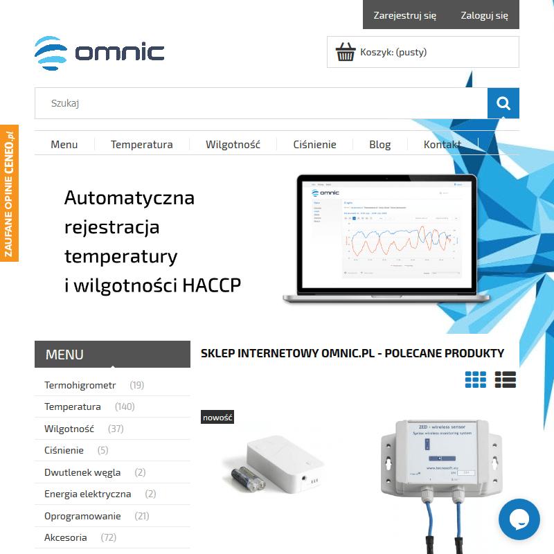 Inteligentny system rejestracji temperatury