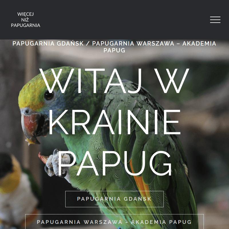 Papugi egzotyczne - Gdańsk