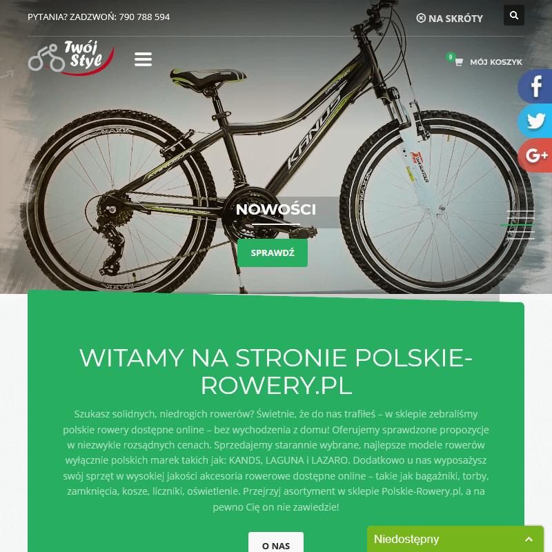 Bagażniki rowerowe online