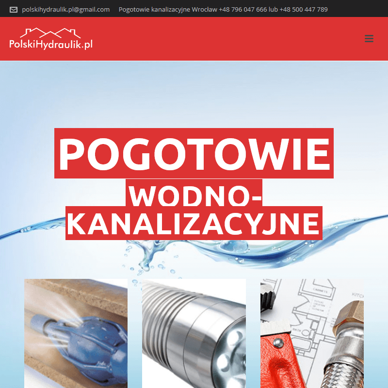 Pogotowie wodociągowe 24h - Wrocław