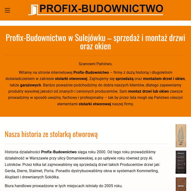Drzwi przylgowe - Warszawa