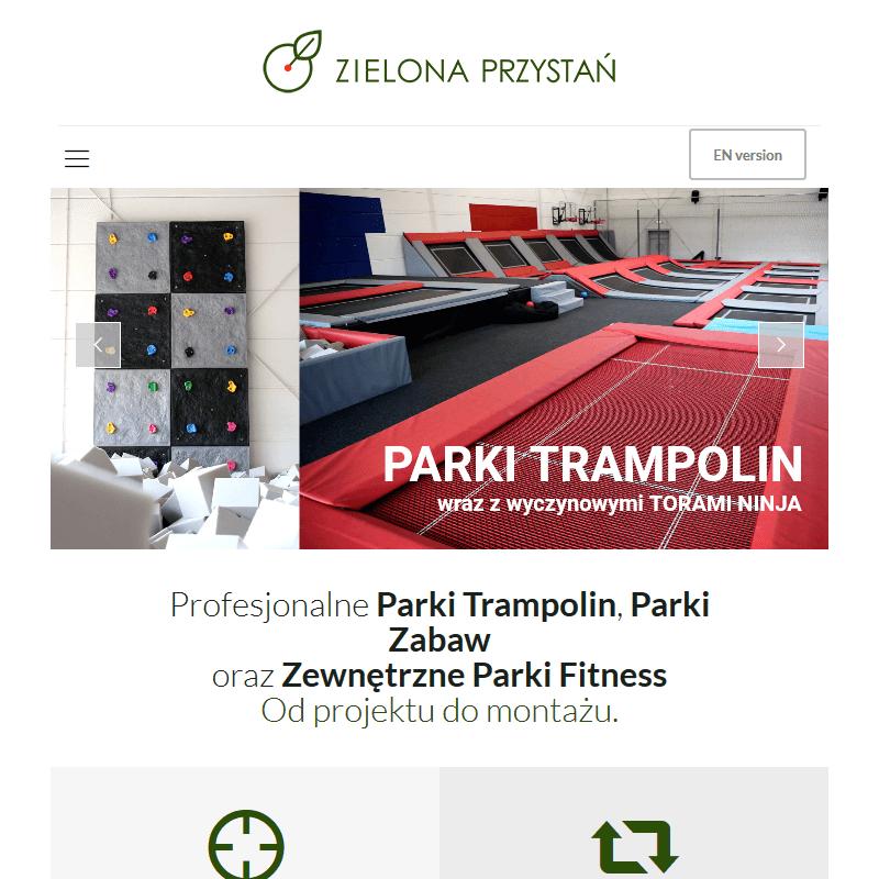 Akcesoria parków trampolin