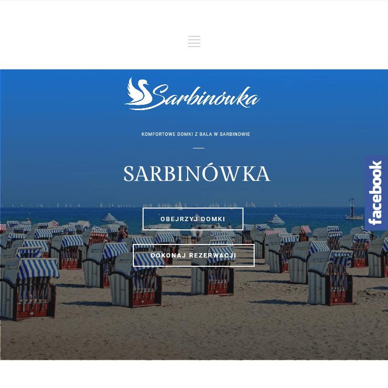 Domki letniskowe - Sarbinowo