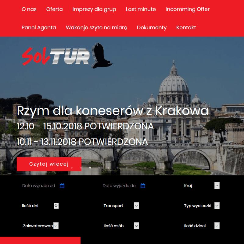Biuro turystyczne - Kraków