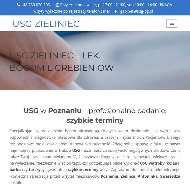 USG węzłów chłonnych - Poznań